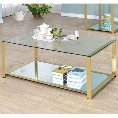 Ruchelly Metal Frame Coffee Table