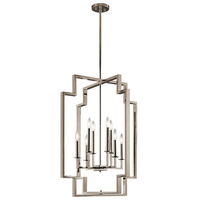 Goffe 8-Light Candle-Style Chandelier