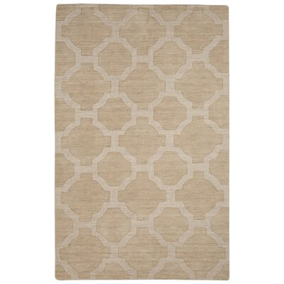 Brompton Hand-Tufted Pelican & Agate Gray Area Rug Rug Size: Rectangle 2 x 3