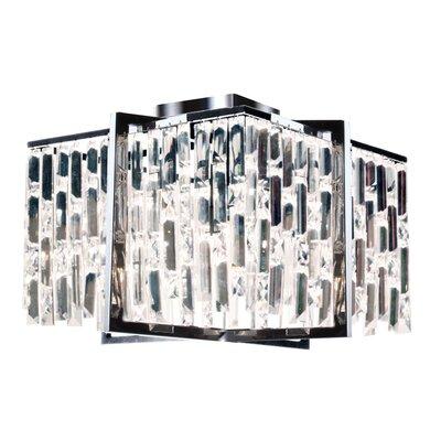 Faunia 4-Light 40W Flush Mount Size: 11 H x 16 W x 16 D