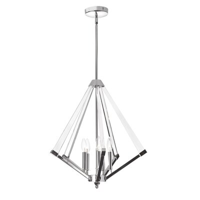 Longchamps 5-Light Foyer Pendant Finish: Polished Chrome