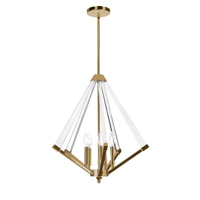 Longchamps 5-Light Foyer Pendant Finish: Vintage Bronze