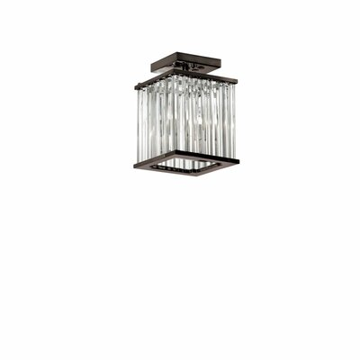 Dru 2-Light Semi Flush Mount