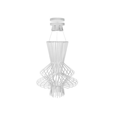 Lorelei 3-Light Pendant Finish: White