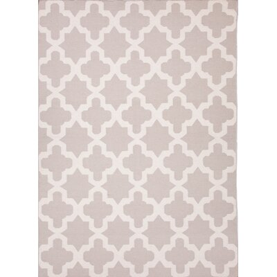 Boulware Classic Gray Geometric Area Rug Rug Size: 9 x 12