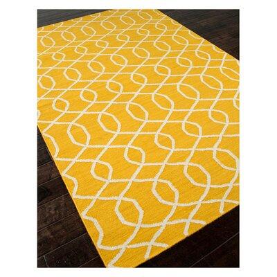 Alcalde Yellow Area Rug Rug Size: 2 x 3
