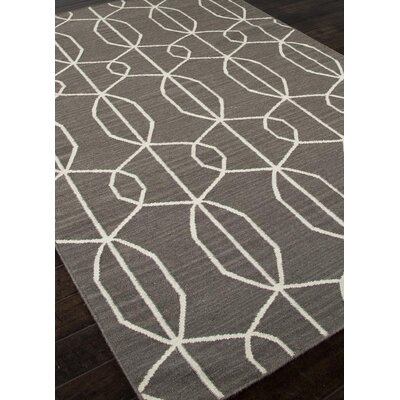 Dianne Hand-Woven Brown Area Rug Rug Size: 2 x 3