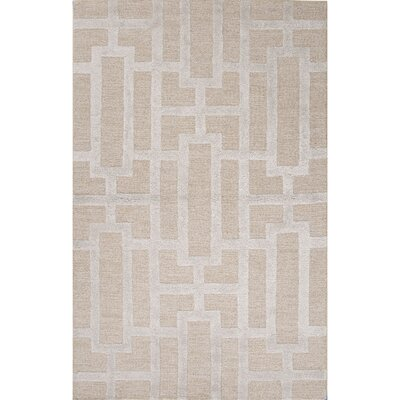 Avery Taupe / Gray Geometric Area Rug Rug Size: Rectangle 36 x 56