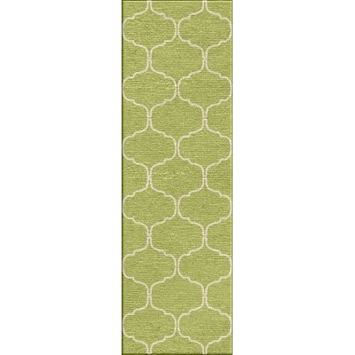 Wilder Lime Sherbet Moroccan Area Rug Rug Size: Rectangle 8 x 10