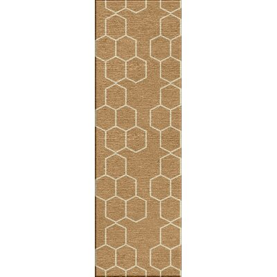 Wilder Camel Area Rug Rug Size: Rectangle 36 x 56