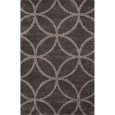 Blondell Gray Geometric Area Rug Rug Size: 36 x 56