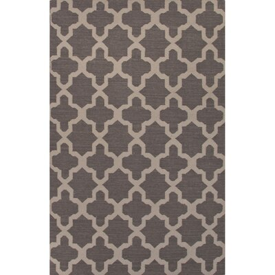 Bowens Gray/Tan Geometric Area Rug Rug Size: Rectangle 36 x 56