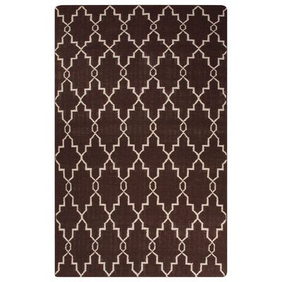 Rickman Brown Area Rug Rug Size: Rectangle 5 x 8