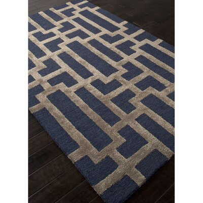 Jagger Hand Tufted Blue/Taupe Area Rug
