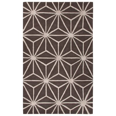 Blondell Hand-Tufted Gray Area Rug Rug Size: 96 x 136