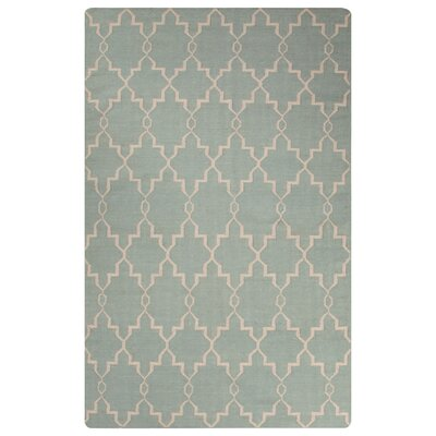 Rickman Blue Area Rug Rug Size: Rectangle 2 x 3