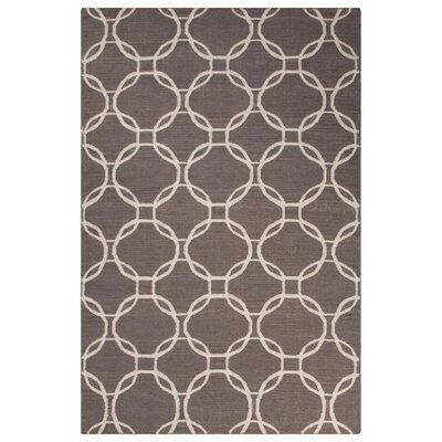 Wilder Gray/Ivory Area Rug Rug Size: Rectangle 8 x 10