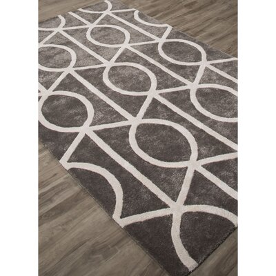 Blondell Hand-Tufted Gray/White Area Rug