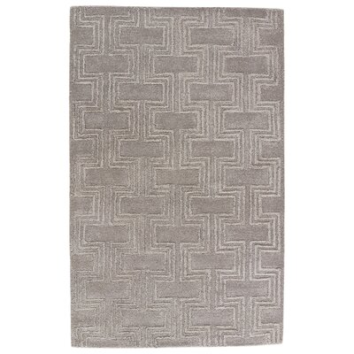 Avery Hand-Tufted Elephant Skin Area Rug Rug Size: Rectangle 2 x 3
