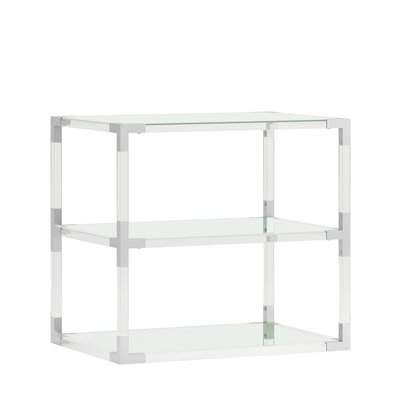 Charlot Acrylic End Table