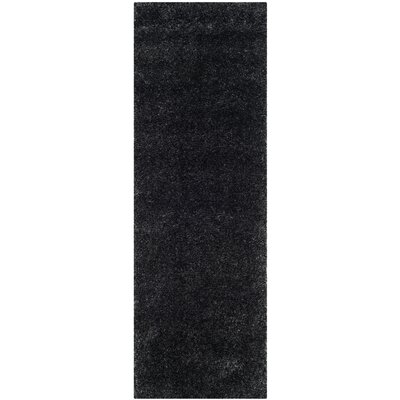 Soraya Black Area Rug Rug Size: Runner 23 x 5