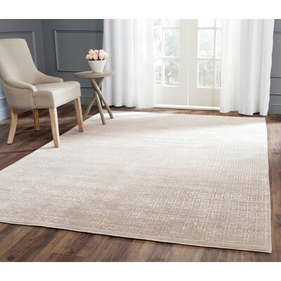Zolder Hand-Knotted Gray Area Rug Rug Size: Square 16