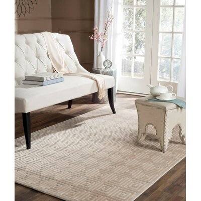 Maspeth Greek Key Area Rug Rug Size: Rectangle 31 x 47