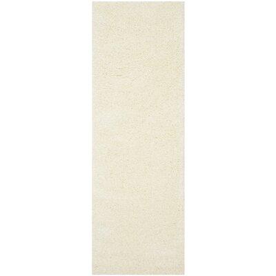 Soraya Cream Area Rug Rug Size: Runner 23 x 5