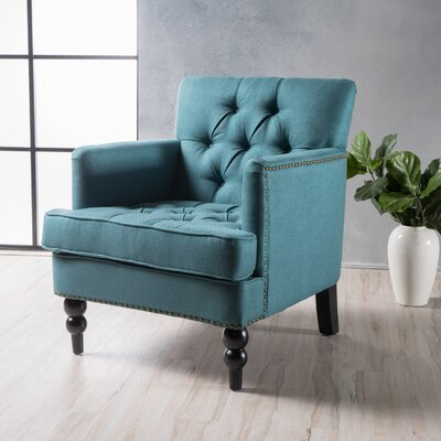 Gillmore Armchair Upholstery : Dark Teal