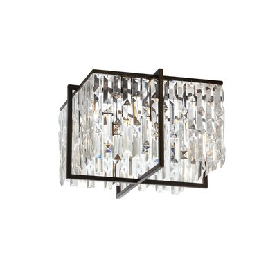 Faunia 4-Light Flush Mount Size: 11 H x 16 W x 16 D