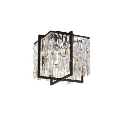 Longridge 4-Light Flush Mount Size: 11 H x 12 W x 12 D
