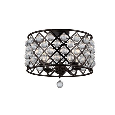 Lutterworth 4-Light Semi Flush Mount