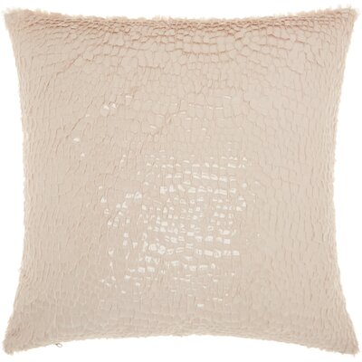 Beacham Throw Pillow Color: Ivory