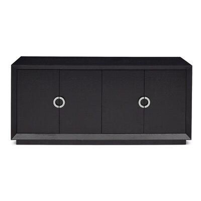 Recio Monroe Sideboard Finish: Black