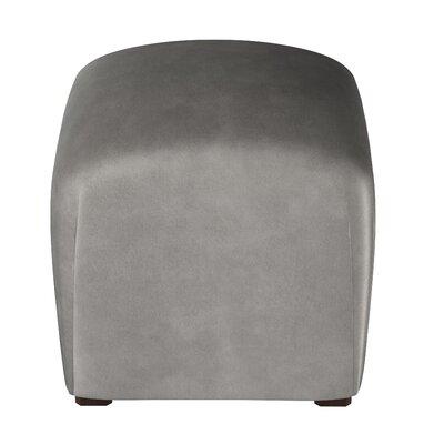 Recker Ottoman Color: Steel Gray