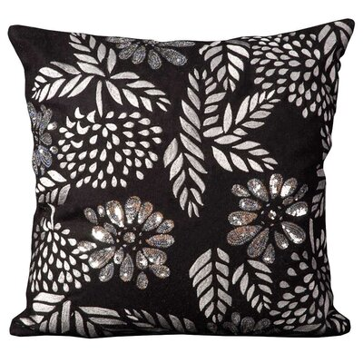 Goddard Wool Throw Pillow Color: Black