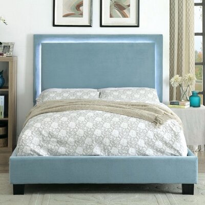 Taylor Contemporary Upholstered Platform Bed