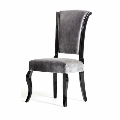Maire Side Chair Upholstery: Gray