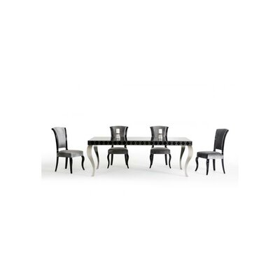 Maire Dining Table Top Finish: Black