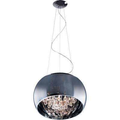 Heckart 5-Light Mini Pendant Size: 8.25 H x 15.75 W