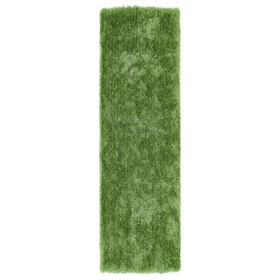 Caine Lime Green Area Rug Rug Size: Runner 23 x 8