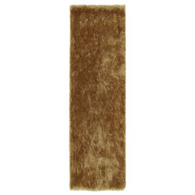 Reding Gold Area Rug Rug Size: Runner 23 x 8