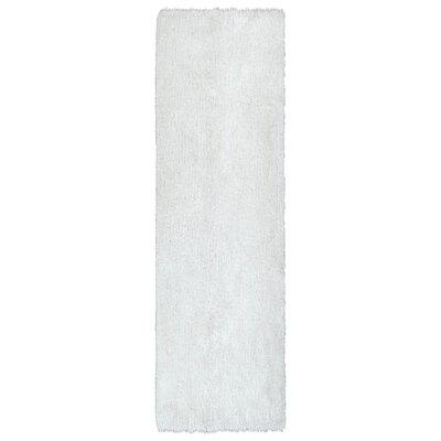 Selman White Area Rug Rug Size: Runner 23 x 8