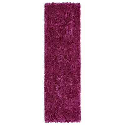 Caine Pink Area Rug Rug Size: Runner 23 x 8