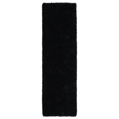 Selman Black Area Rug Rug Size: Runner 23 x 8