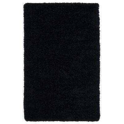 Selman Black Area Rug Rug Size: Rectangle 9 x 12