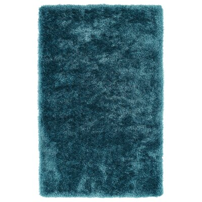 Caine Teal Area Rug Rug Size: Rectangle 5 x 7