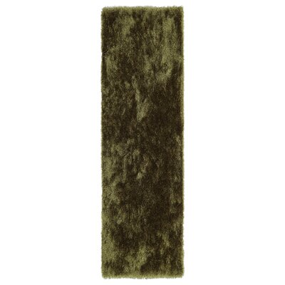Caine Olive Area Rug Rug Size: Runner 23 x 8
