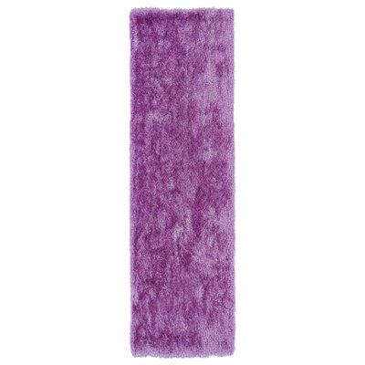 Caine Lilac Area Rug Rug Size: Runner 23 x 8