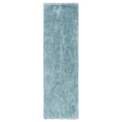 Selman Light Blue Area Rug Rug Size: Runner 23 x 8